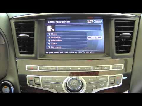 How to use navigation Infiniti QX60