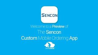 Sencon - Mobile App Preview - SEN329W