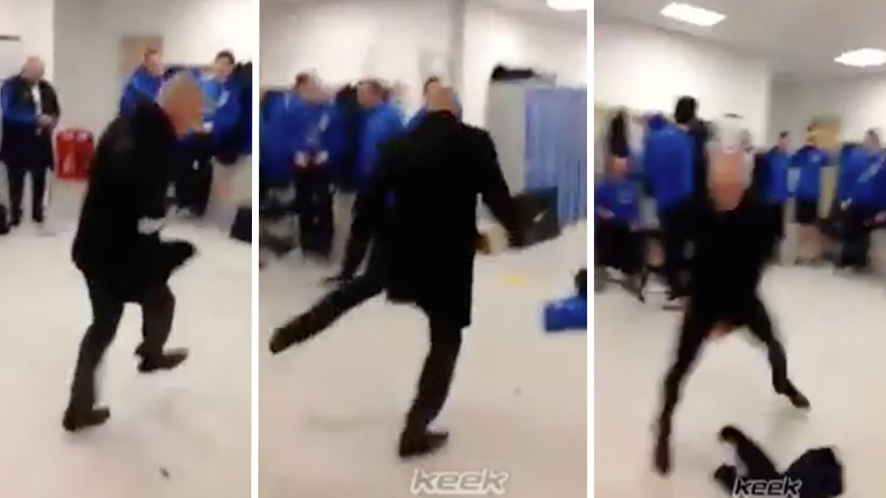 Ian Holloway S Crazy Dancing In The Dressing Room