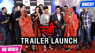 Stree Official Trailer Launch