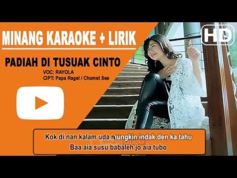 Rayola - Padiah Ditusuak Cinto Karaoke