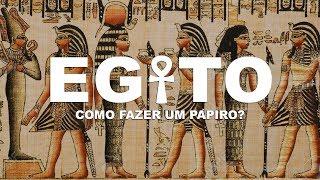 Como fazer um Papiro l EGITO l Ep.9 thumbnail