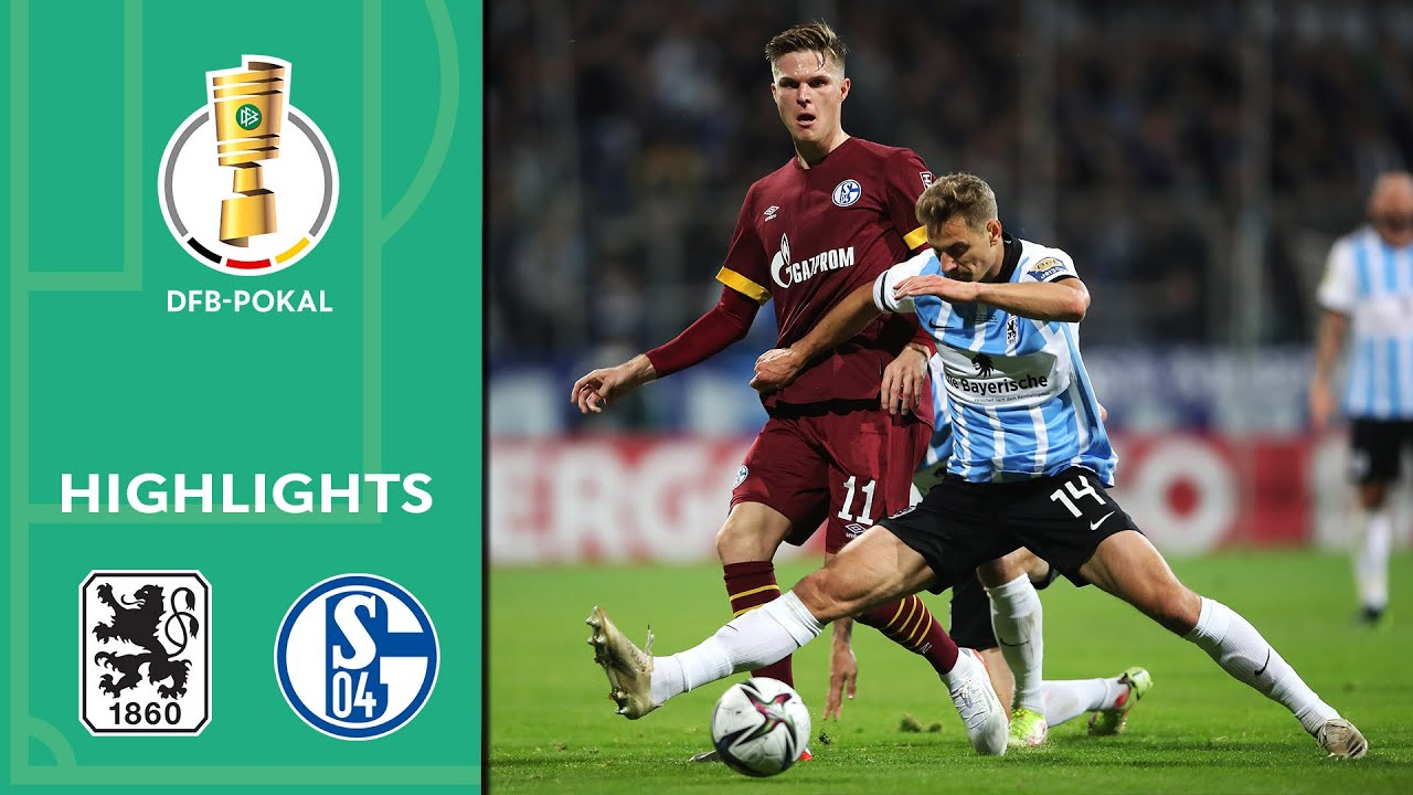 Download 1860 Munich surprises S04 | 1860 München vs. Schalke 04 1-0 | Highlights | DFB-Pokal 2. Round