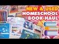New & Used Homeschool Book Haul | Homeschool Mom Fun :)