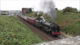 46115 Scots Guardsman The North Wales Coast Express Attempt 2 4/9/2016