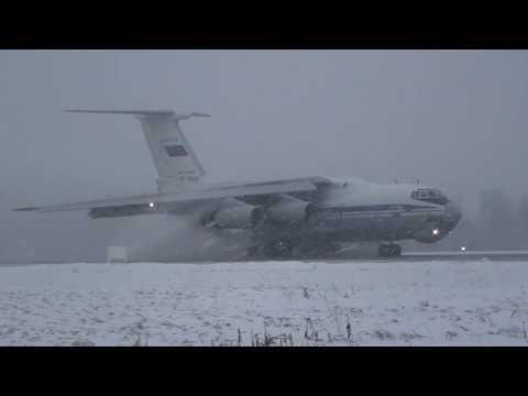 Полеты военно-транспортной авиации