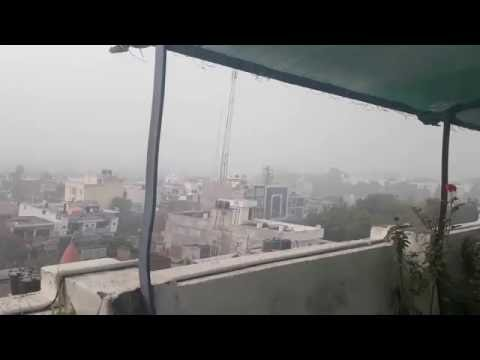 Smog chokes the capital of U.P-Lucknow due to heavy weather change in enviorment
