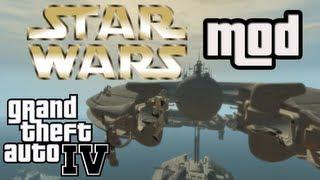 GTA IV - Star Wars Mod inkl. Droiden-Station