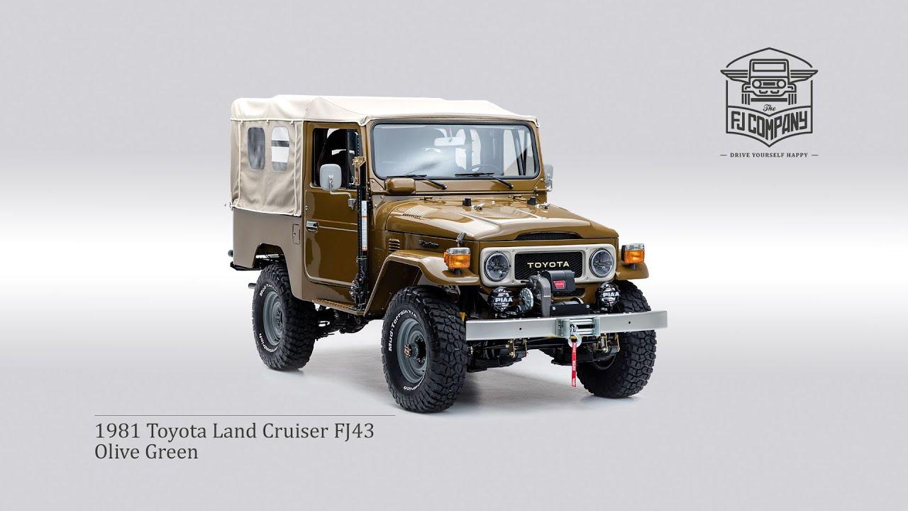 1981 Fj43 Toyota Land Cruiser Restoration Copperstate Overland 1960s Options Edition The Fj Company
