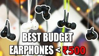 Video Top 5 Budget Earphones under 500 Rupees! download MP3, 3GP, MP4, WEBM, AVI, FLV Maret 2018