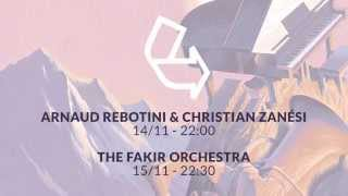 Ars Musica @ Recyclart with Rebotini, Zanési & The Fakir Orchestra