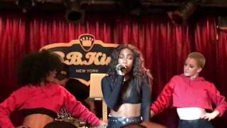 Sevyn Streeter Live in  NYC on her Girl Disrupted Tour at BB Kings 2017