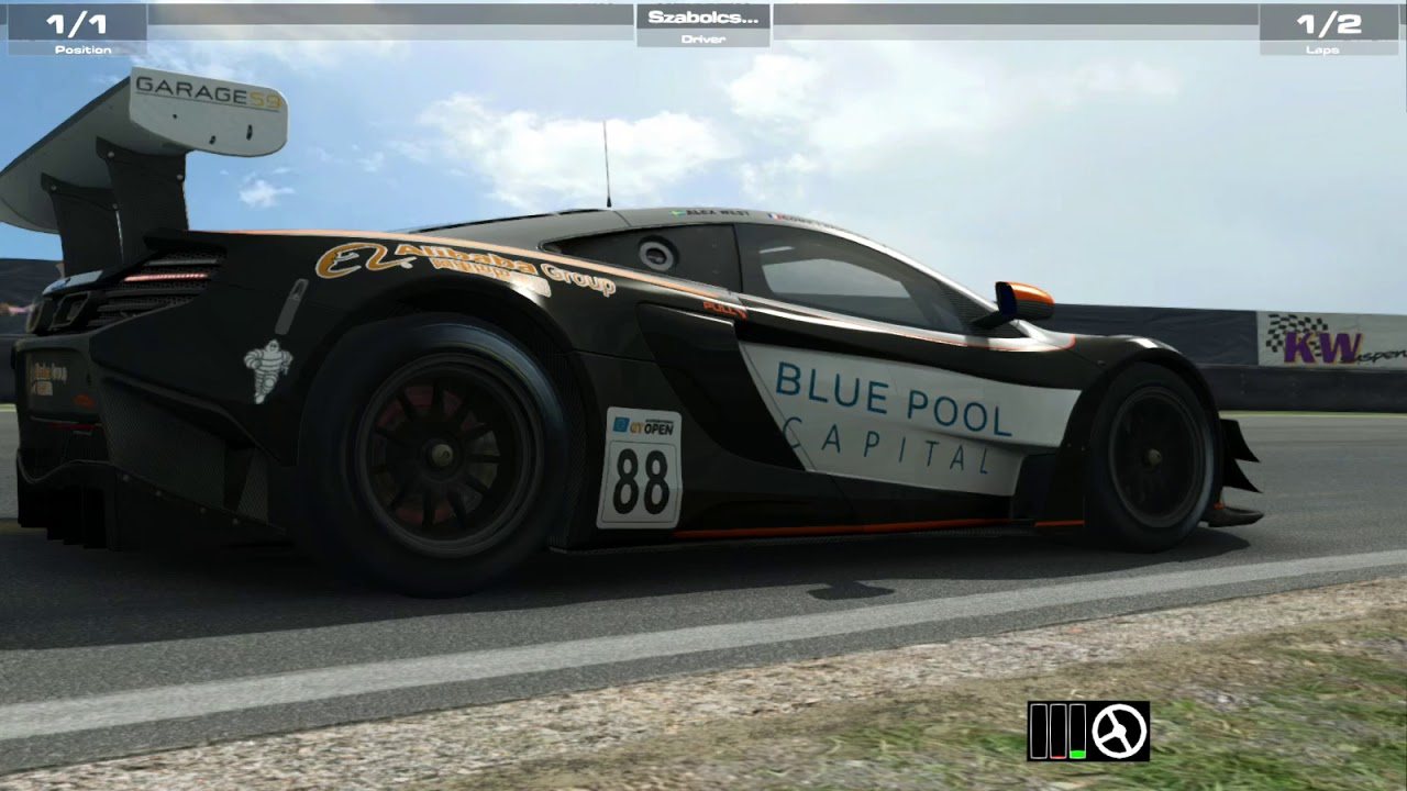raceroom - zandvoort grand prix - mclaren 650s gt3 - hotlap - youtube