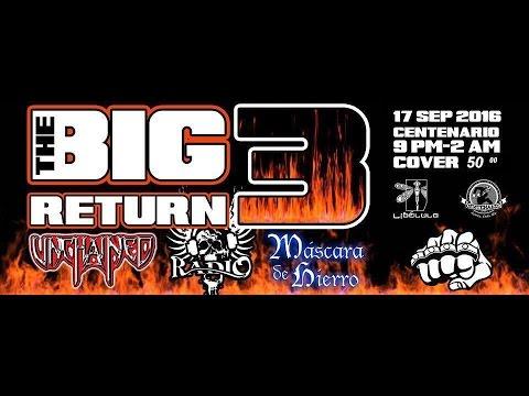 THE BIG 3 RETURN PARTE 3 RADIO CENTENARIO BAR CD. JUAREZ