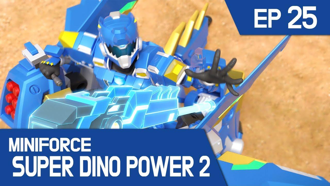 [MINIFORCE Super Dino Power2] Ep.25: Lord Polus Reveals His Power