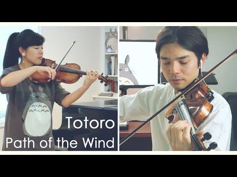 My Neighbor Totoro - Path of the Wind - Violin Cover - Joe Hisaishi