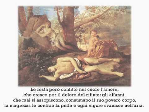 """""""Eco e Narciso"""" di Ovidio"""