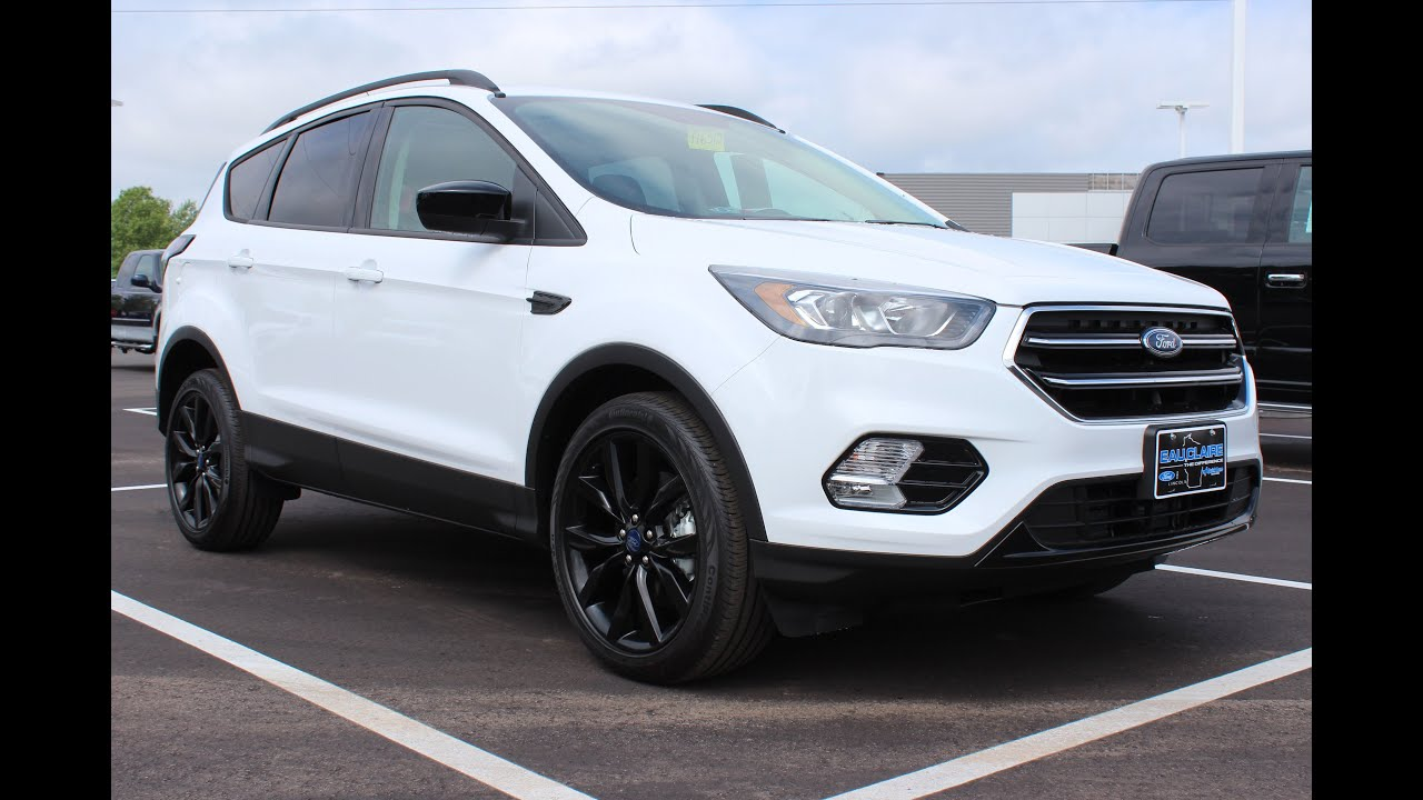 2017 Ford Escape Se Sport Earance Package Ecoboost Suv At Eau Claire Lincoln Quick Lane