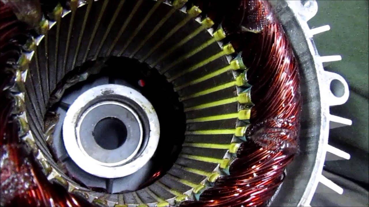 Car Starter Wiring Diagram Diy High Output Permanent Magnet Alternator Generator