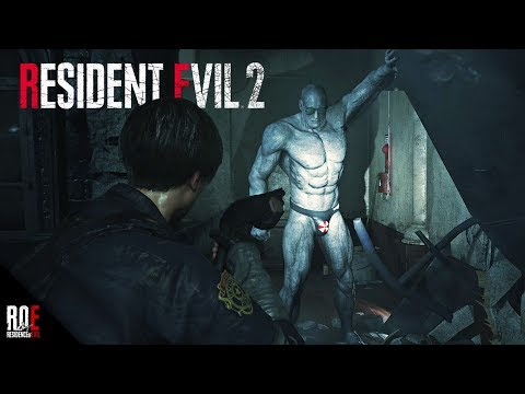 RESIDENT EVIL 2: REMAKE | Beachboy MR. X (Mod)