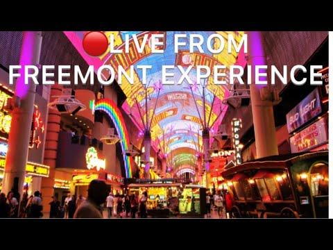 🔴 at Fremont street Vegas