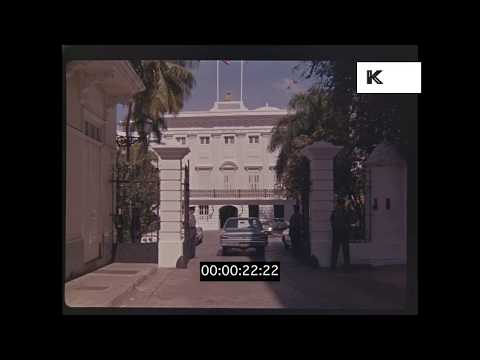 1960s, 1970s Caribbean Colonial Era Buildings, HD from 35mm | Kinolibrary