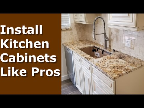 Must Have Tools To Install Cabinets The Handyman Youtube