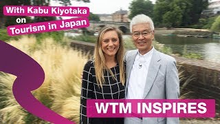 WTM Inspires with Mr Kabu: Everything you need to know about tourism in Japan