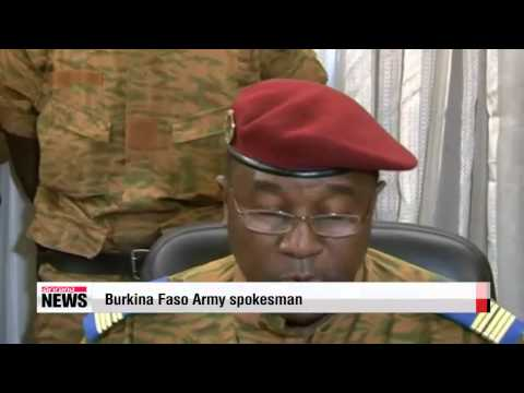 Burkina Faso government dissolved by military head   Burkina Faso government dis