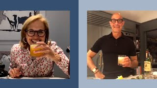 Stanley Tucci Shared His Best Summer Cocktail Recipe With Me