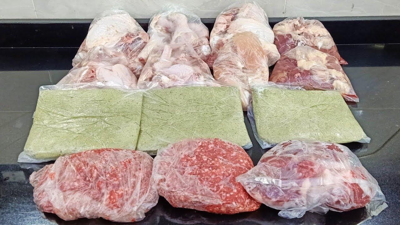 مشتريات للتلاجة كانت فضيت خالص و باقل من 500 جنية هناكل لحمة وفراخ طول الشهر