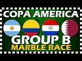 Copa America 2019 Group B - Marble Race - Algodoo