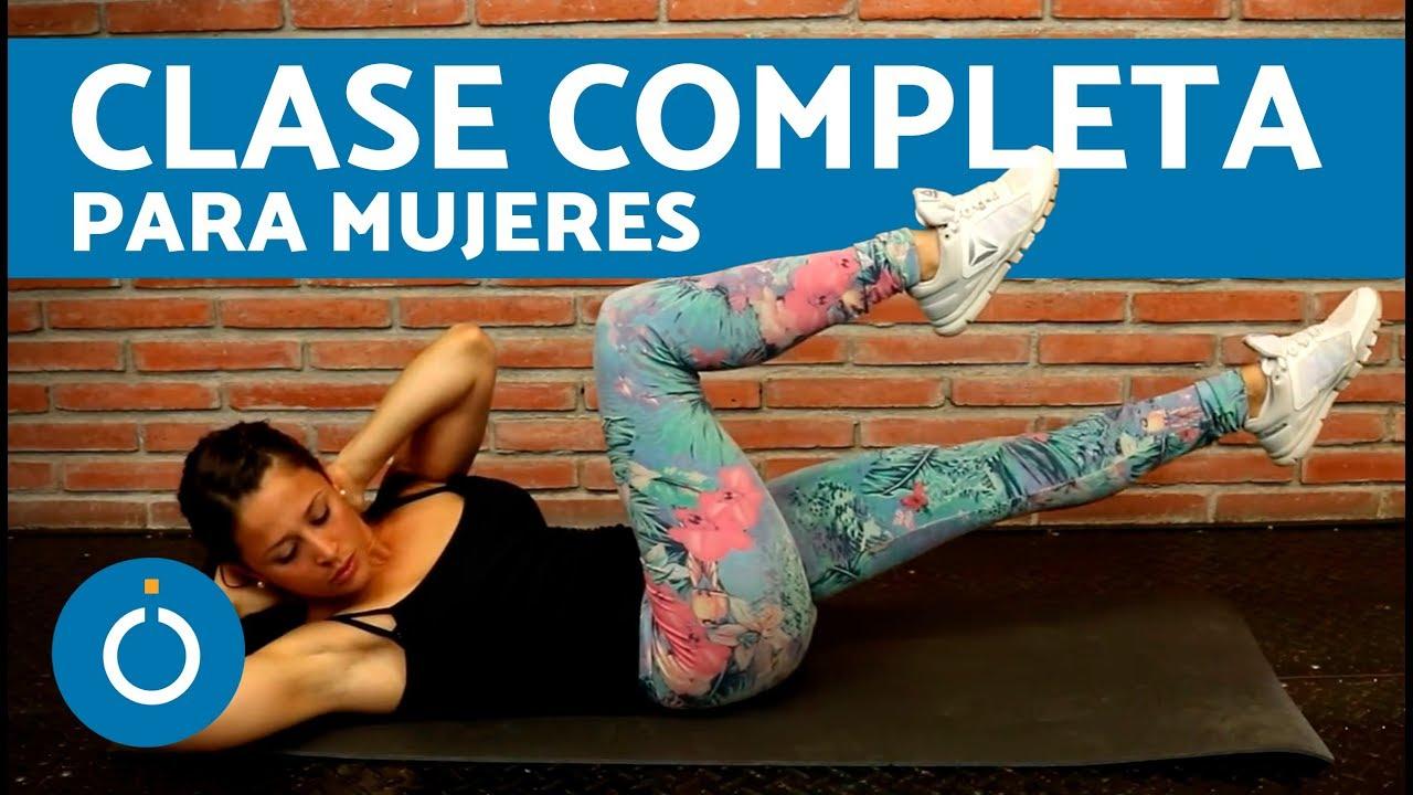Fitness Para Mujeres Tonificar Todo El Cuerpo En Casa Youtube