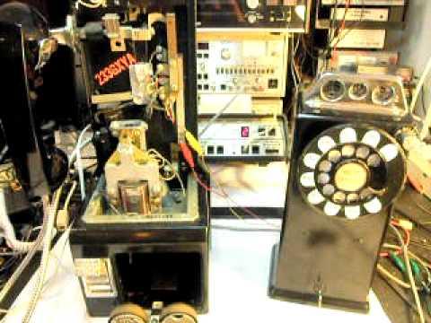 western electric 233 3 slot payphone repair www a1 telephone com 618 rh youtube com Automatic Electric Payphone Western Electric 3 Slot Payphone