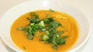 Butternut Squash (pumpkin) & Peanut Butter Soup (giggle Gourmet)