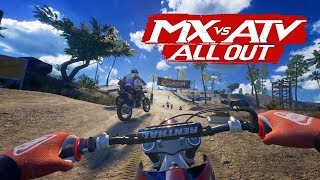 MX vs ATV All Out - First Gameplay Trailer (2018)