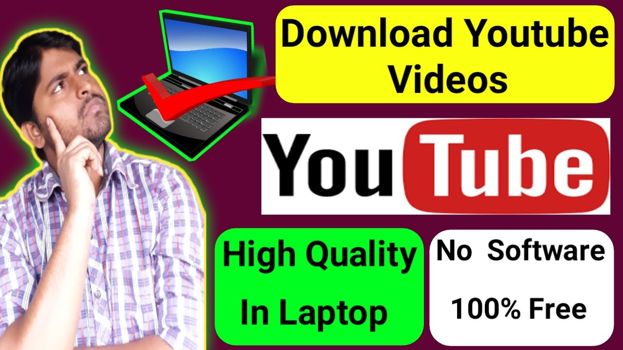 How To Download YouTube Video In Laptop  How To Download YouTube Video In  PC  in Hindi