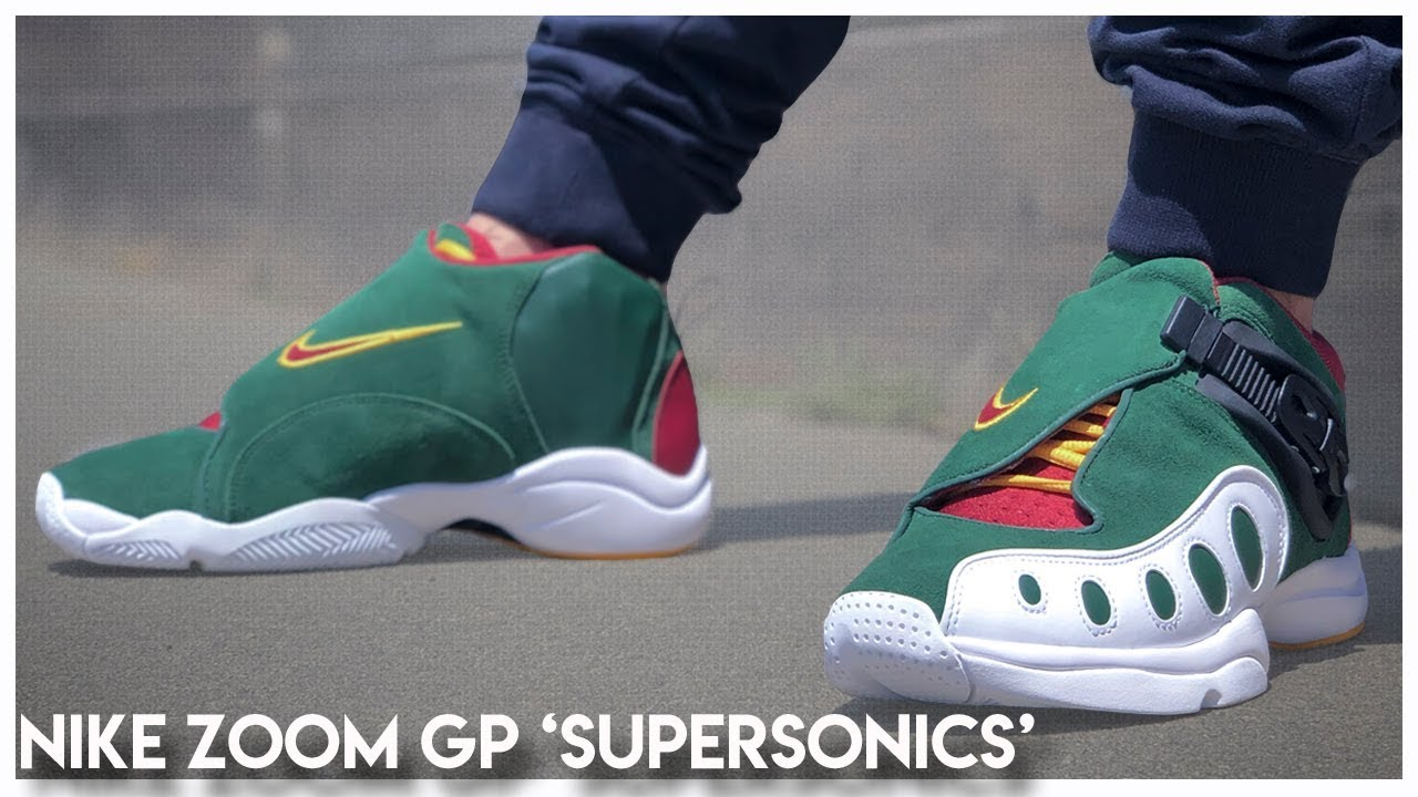 Nike Zoom GP 'Supersonics'   Review