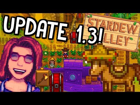 Everything YOU Need To KNOW About The MULTIPLAYER Update!| Stardew Valley 1.3 News (2018)