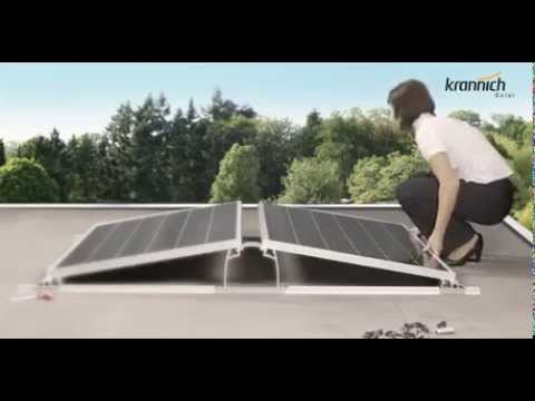 Krannich Solar introduces the Dome System from K2 Systems
