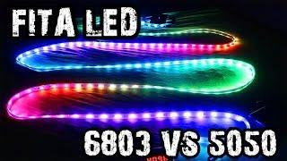 FITA LED DIGITAL 6803 VS FITA LED 5050