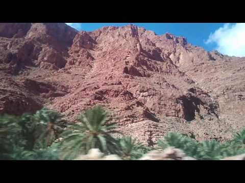 Going to Todgha Gorge, Morocco