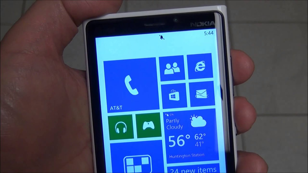 Putting A Microsoft Phone On Silent