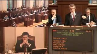 Záznam z jednání Sněmovny 10.1.2018 12:00-13:00