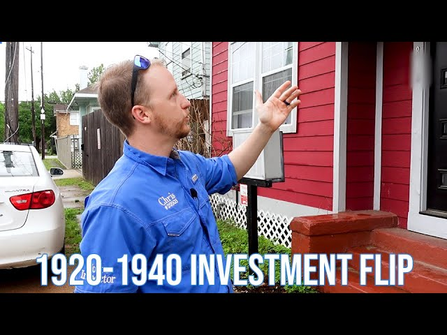 1920s-1940s Investment Flip