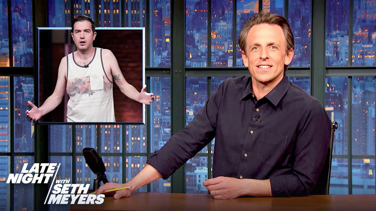Seth Calls Out Late Night Writer Mike Scollins