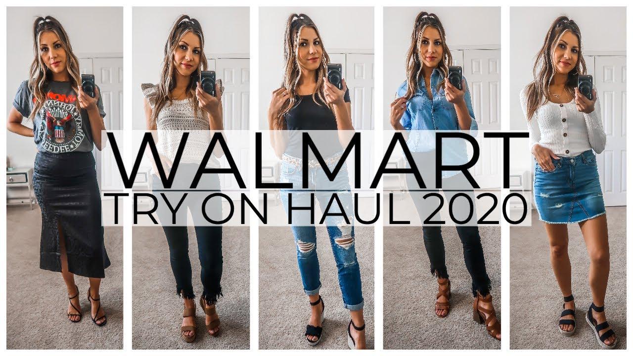 HUGE WALMART TRY ON HAUL 30  SPRING + SUMMER OUTFIT IDEAS  #walmarthaul  #walmartfashion