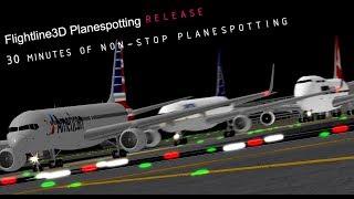 30 Minutes of Planespotting! | Flightline | ROBLOX Gameplay