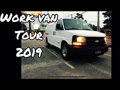 WORK VAN TOUR (2019) Chevrolet 3500 Cargo Van