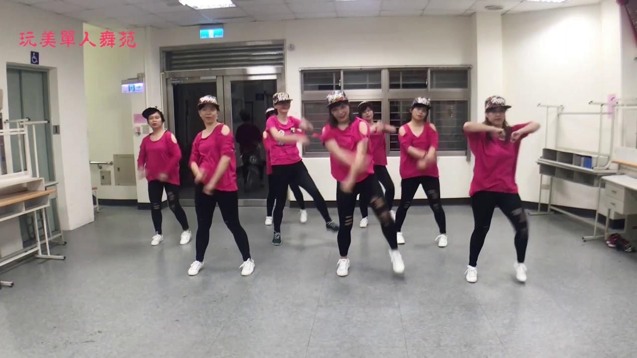 玩美單人舞苑 -- 088 - 韓國爆紅減肥舞mamma mia - YouTube
